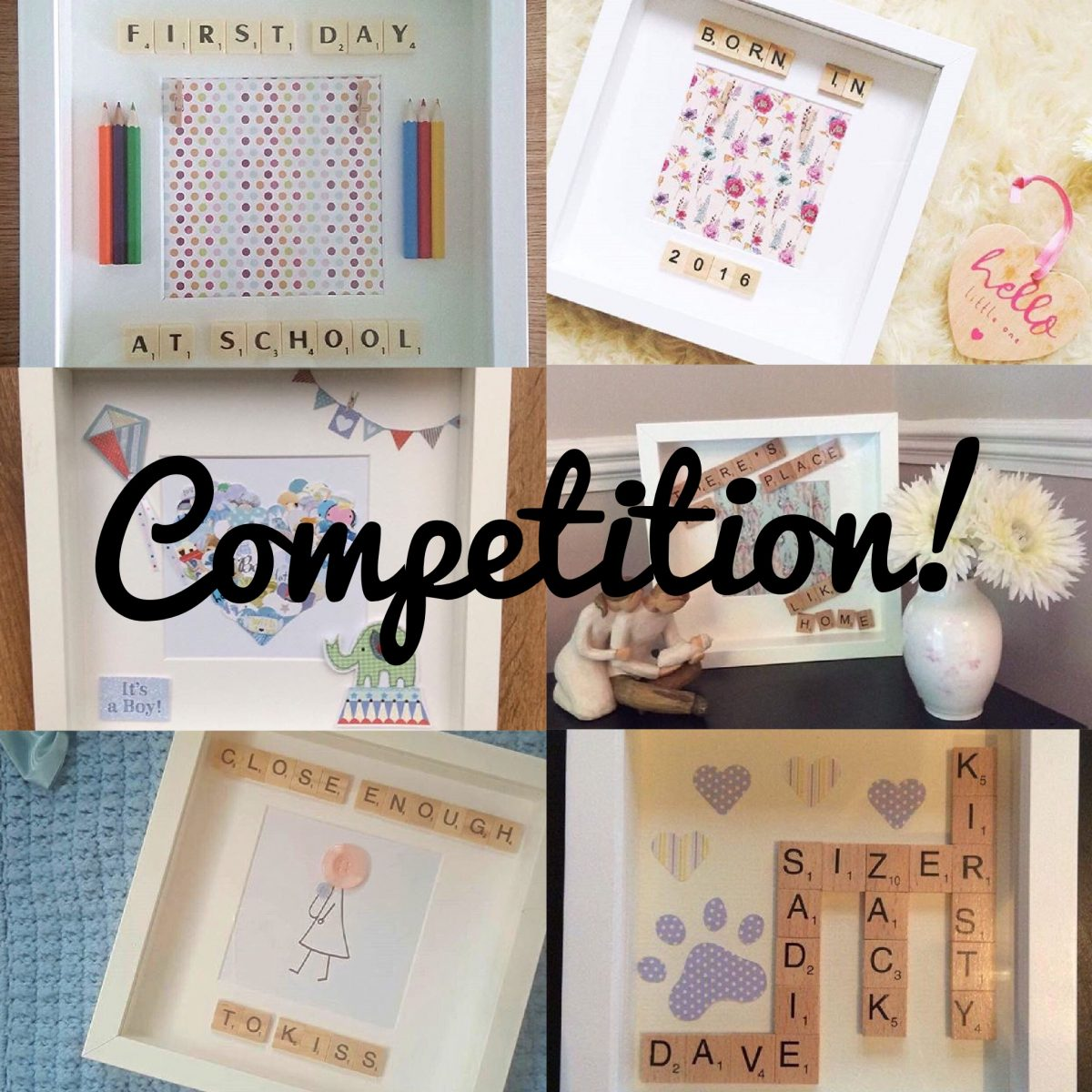 Competition! Win a bespoke frame made by Kayley's Craft Corner