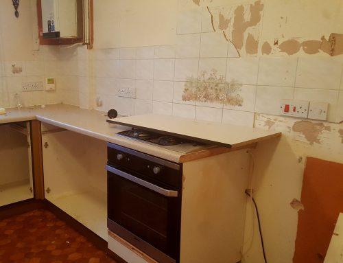 Goodbye old kitchen!