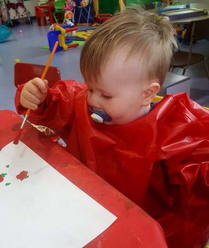 Painting at the hospital