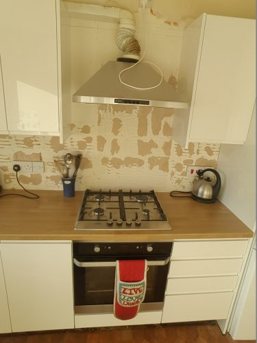 Bosch hob and extractor
