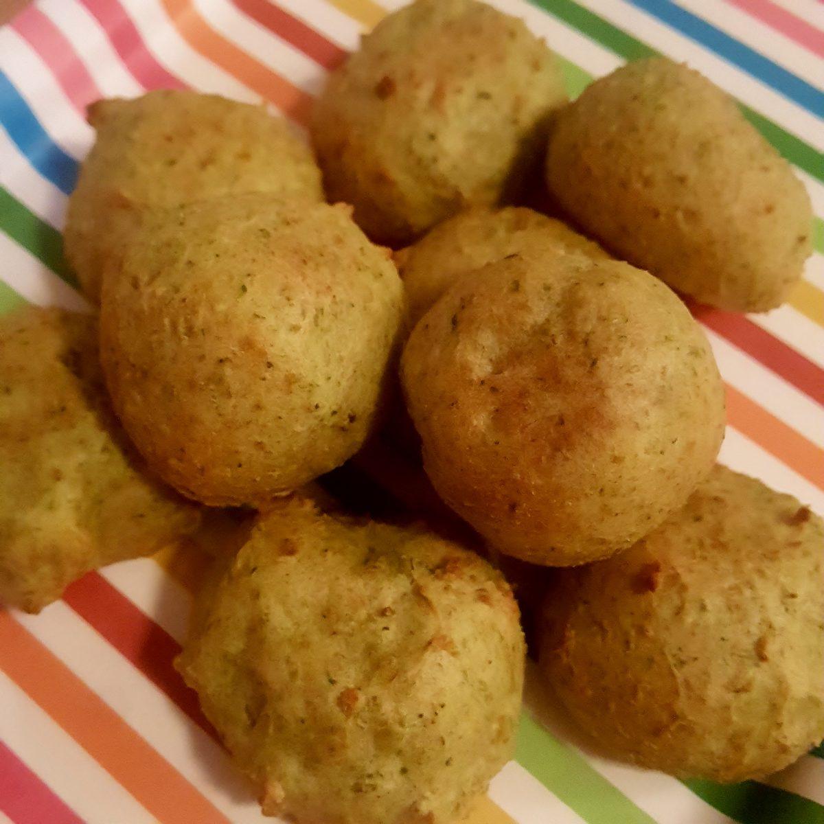 Veggie Cheese Balls