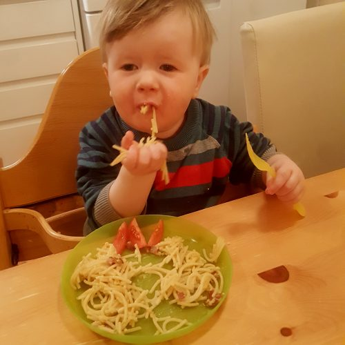 fff spaghetti carbonara Harry