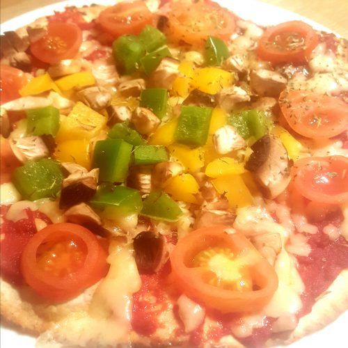 friendly first foods tortilla pizza