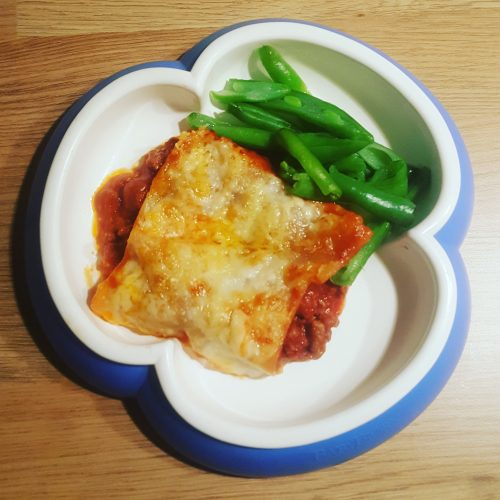 friendly first foods lasagne