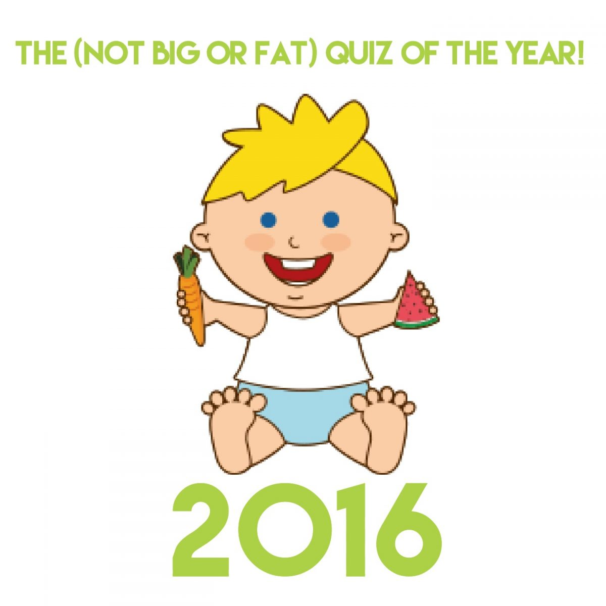 The (not big or fat) quiz of the year