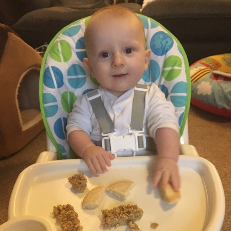 Mrs Mummy Harris – Why we weaned at 3 months old