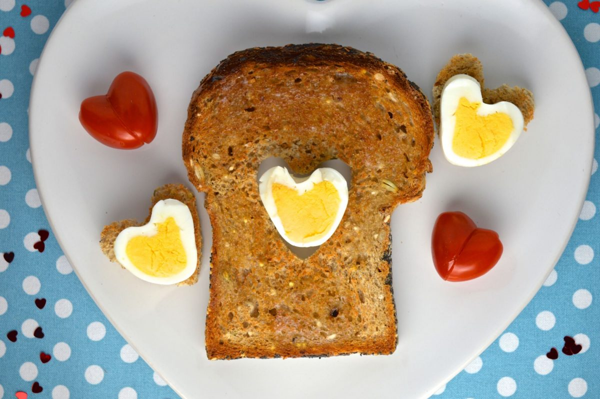 Organix 'Hearty' Valentine's Breakfast