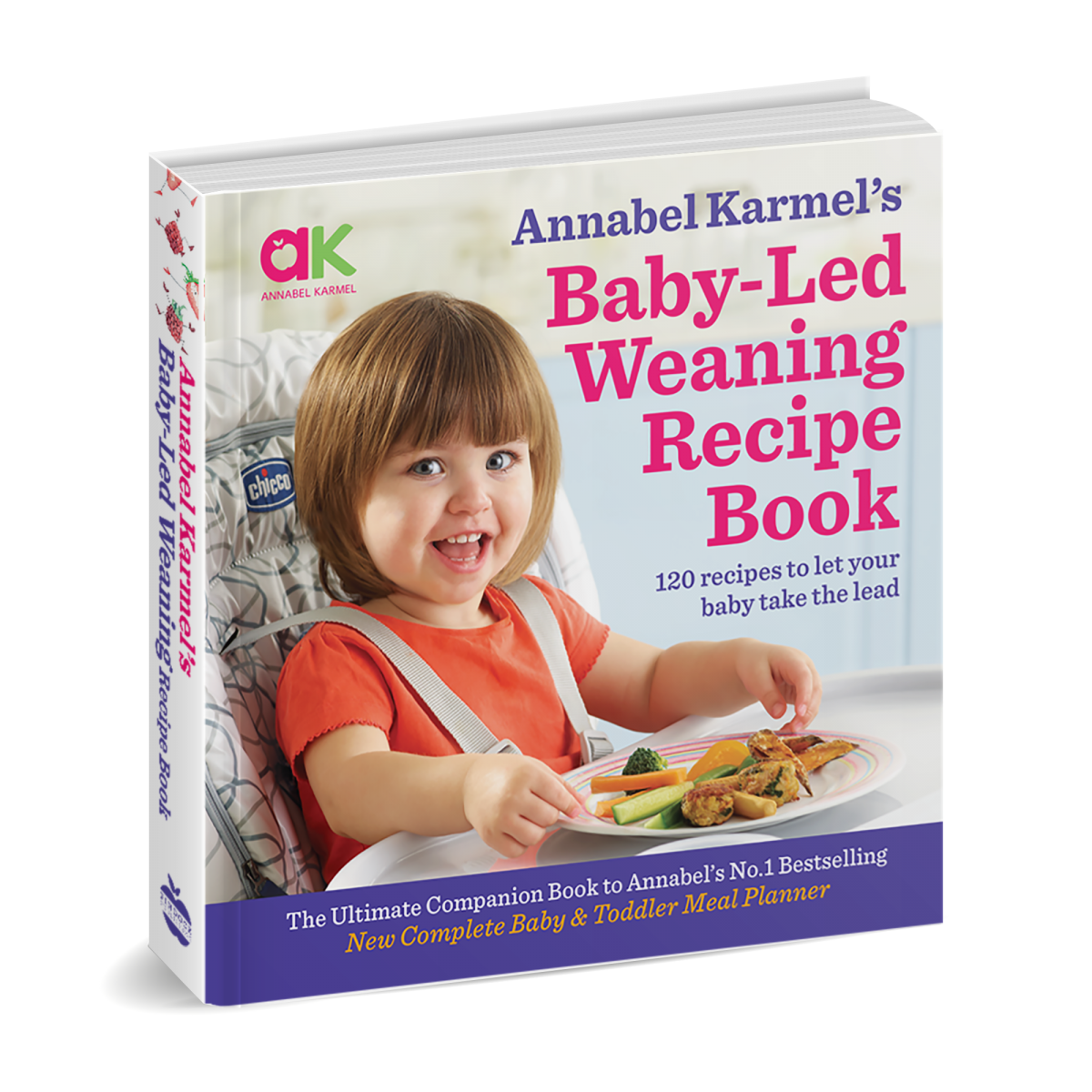 Annabel Karmel's Baby-Led Weaning Recipe Book Review and Giveaway!