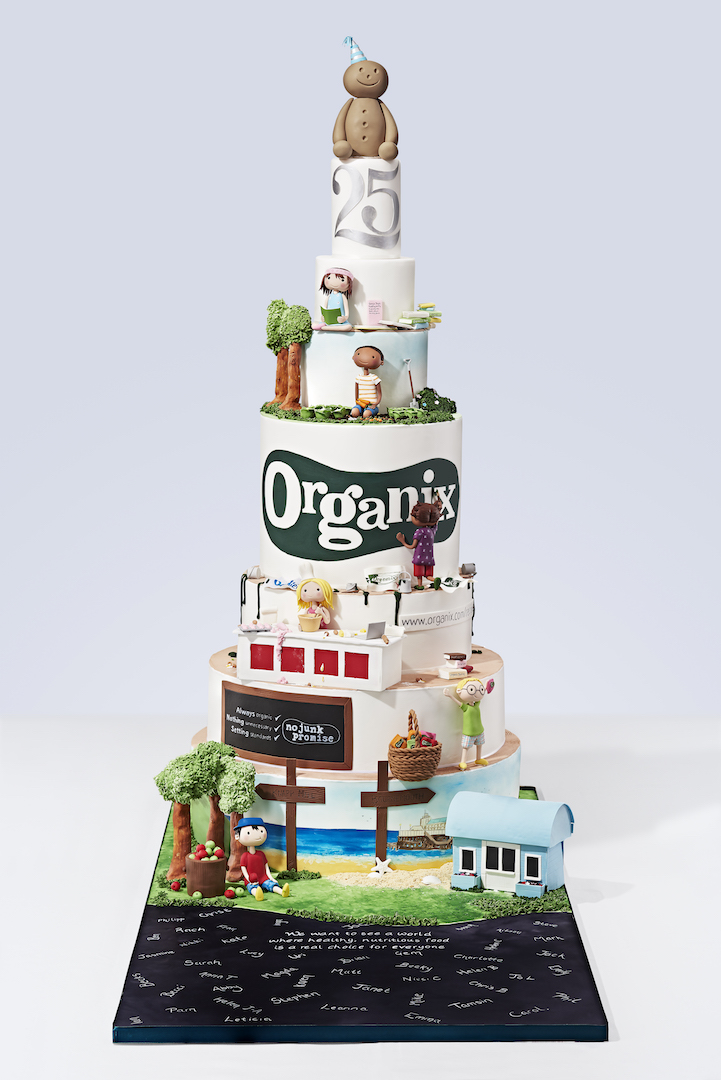 Organix Healthy Birthday Cake Recipes and Goodies Giveaway
