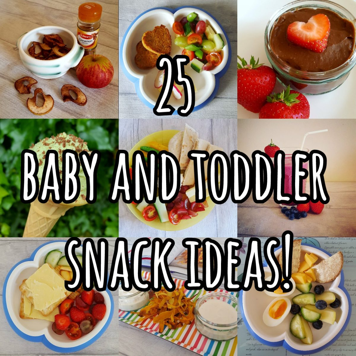 25 Baby and toddler snack ideas