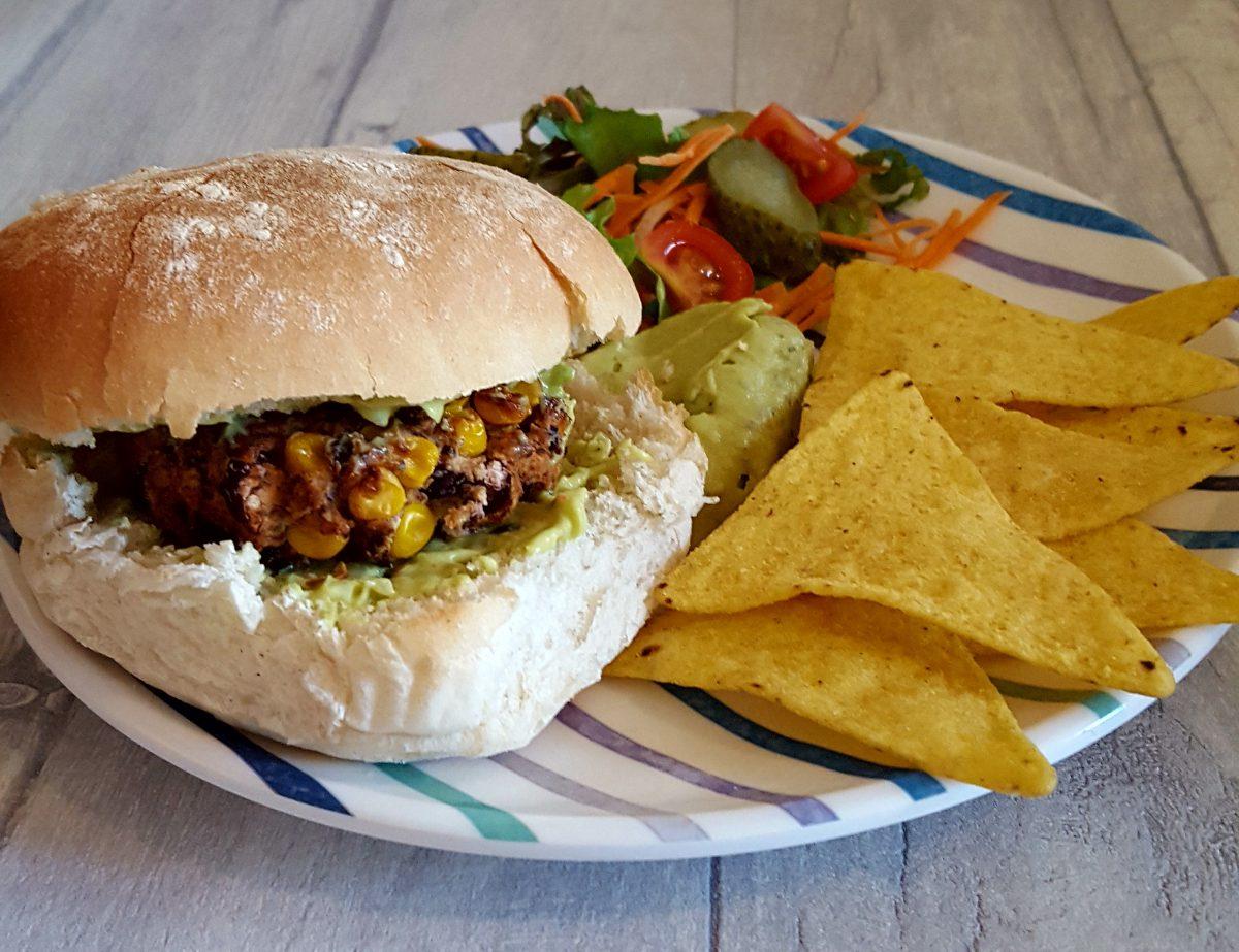 Tex Mex Bean Burgers