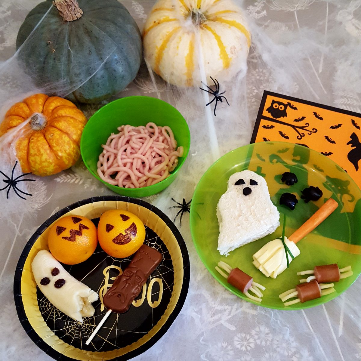Spooktacular Lunch Ideas