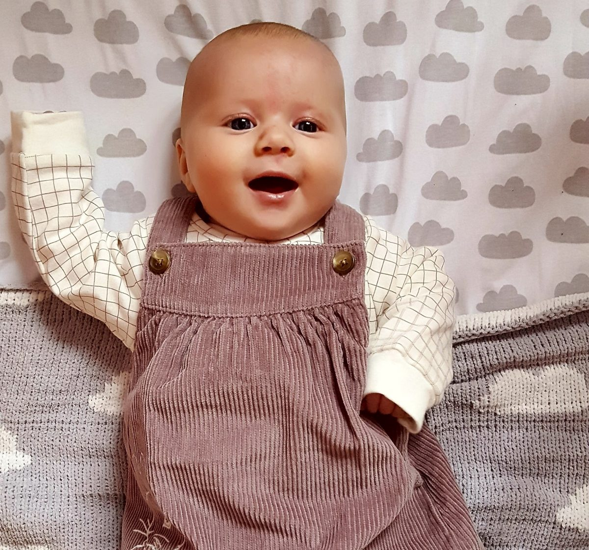 Megan's 3 months old update