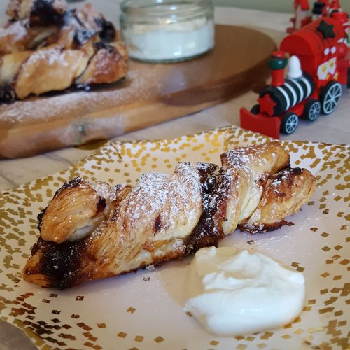 Festive Mincemeat Twists