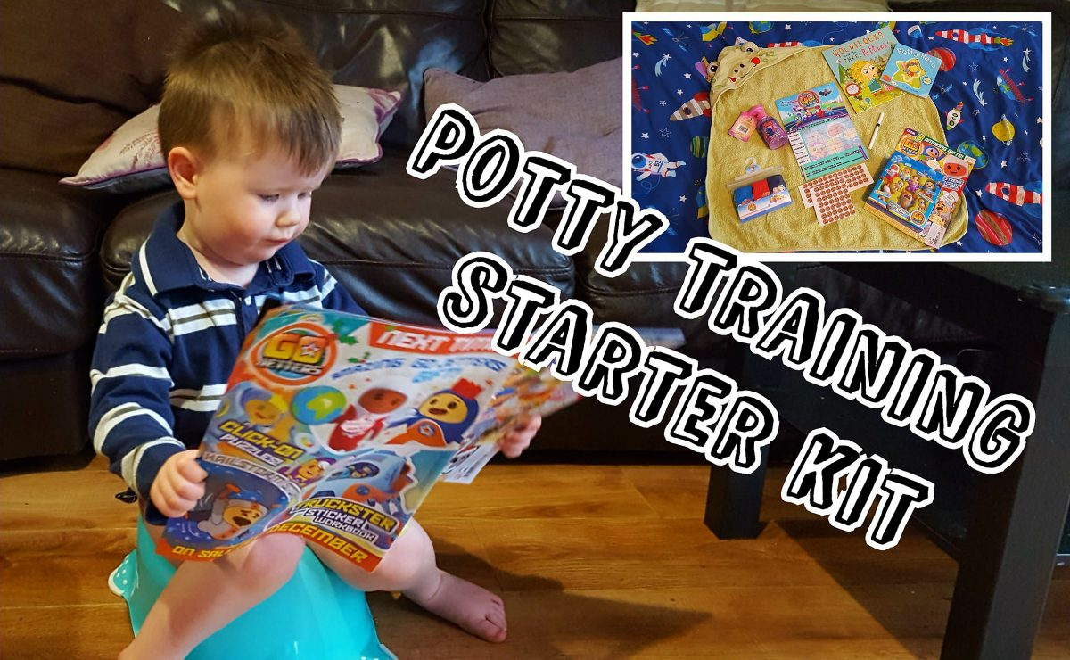 Potty training starter kit ideas