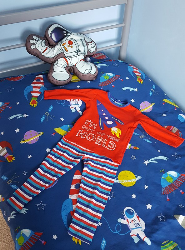 Harry's Space Themed Toddler Bedroom