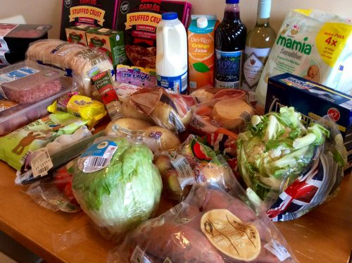 Aldi shopping haul- last meal plan of 2016: batch cooking